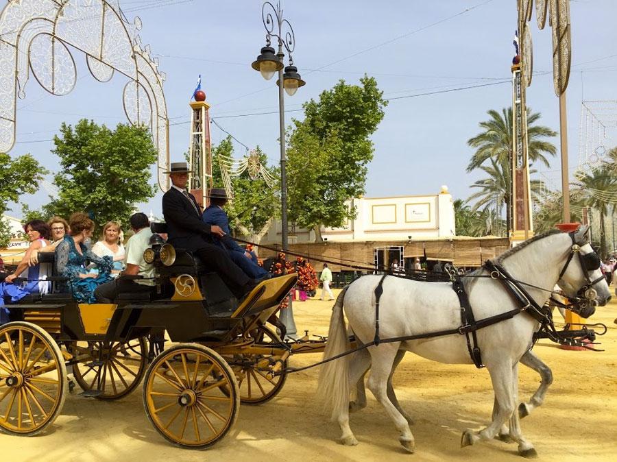 The Horse Festival in Jerez de la Frontera, by Paladar y Tomar