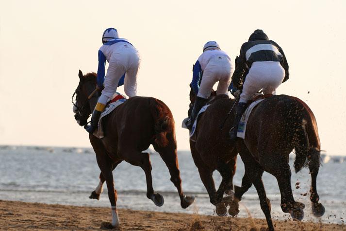 Sanlucar Horses Beach Racing 2015