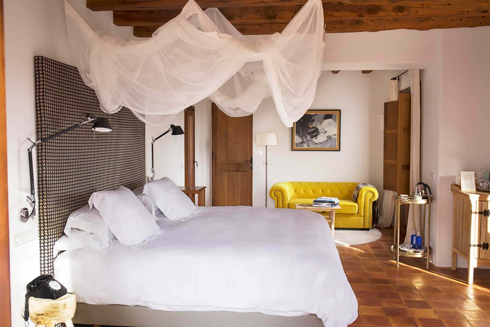 Hotel Cas Gasí in Ibiza, among the 6 best luxury hotels in Spain to elevate your trip