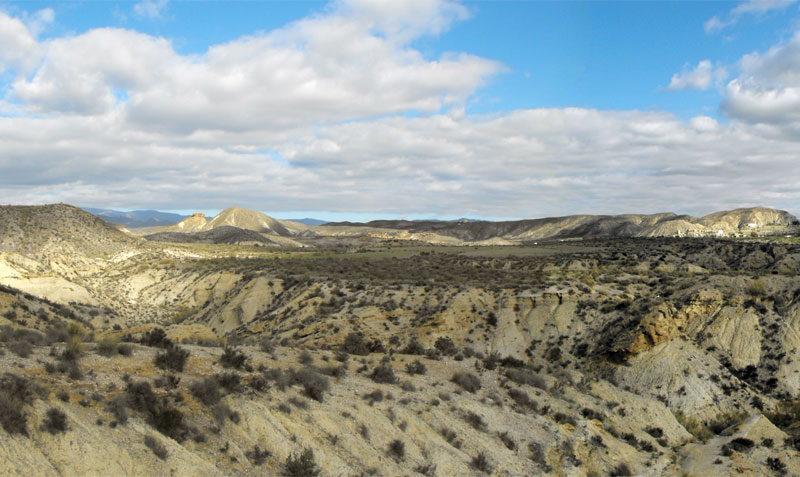 Tabernas desert, Almeria