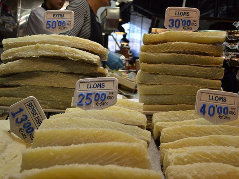 Barcelona Food Markets Tasting Trail, Paladar y Tomar