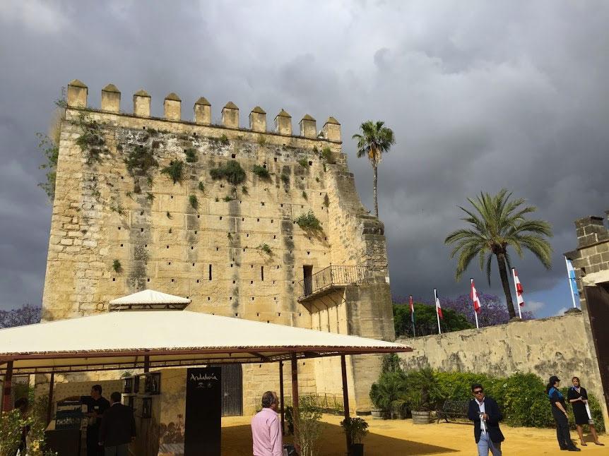 The alcazar of Jerez de la Frontera, Paladar y Tomar