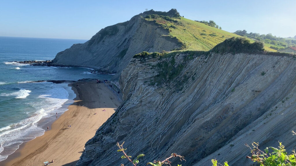 Visit the incredible flysch in Basque Country