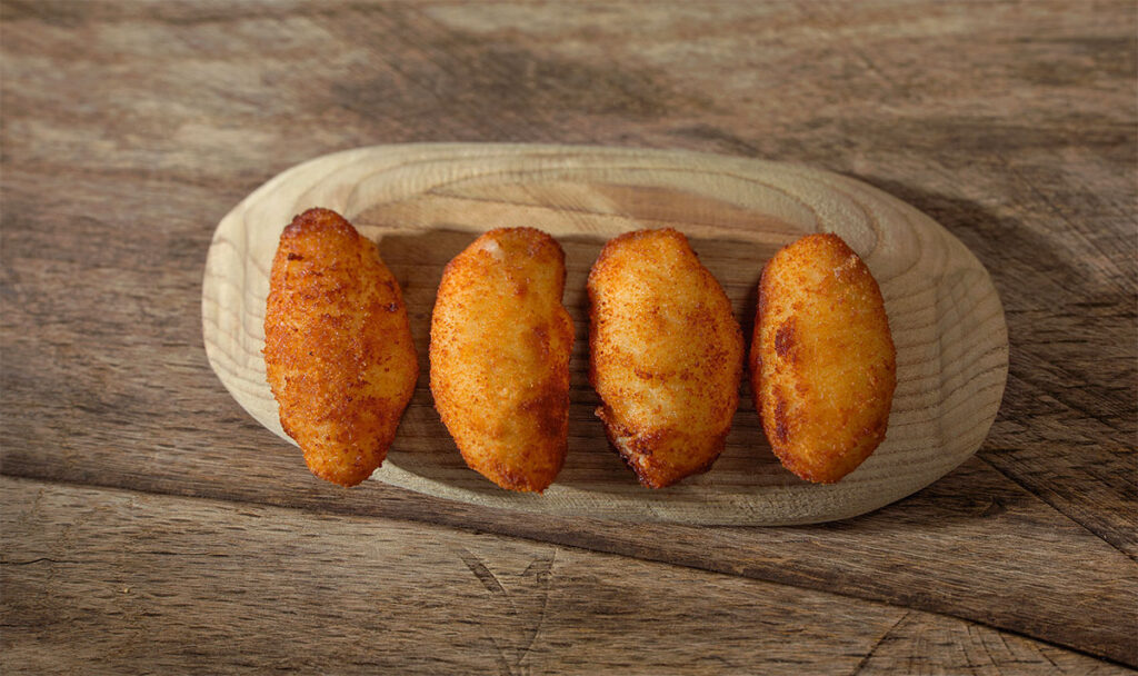 Croquetas recipe by Casa Marcial, a starred recipe