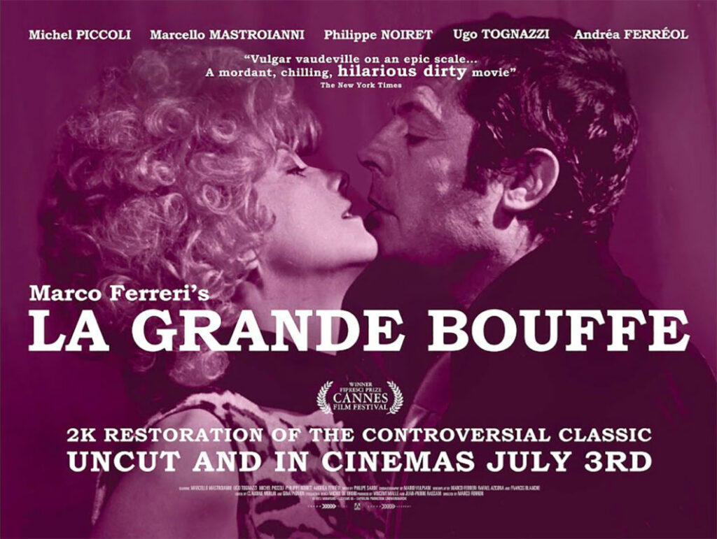 La Grande Bouffe, some of best food and wine movies