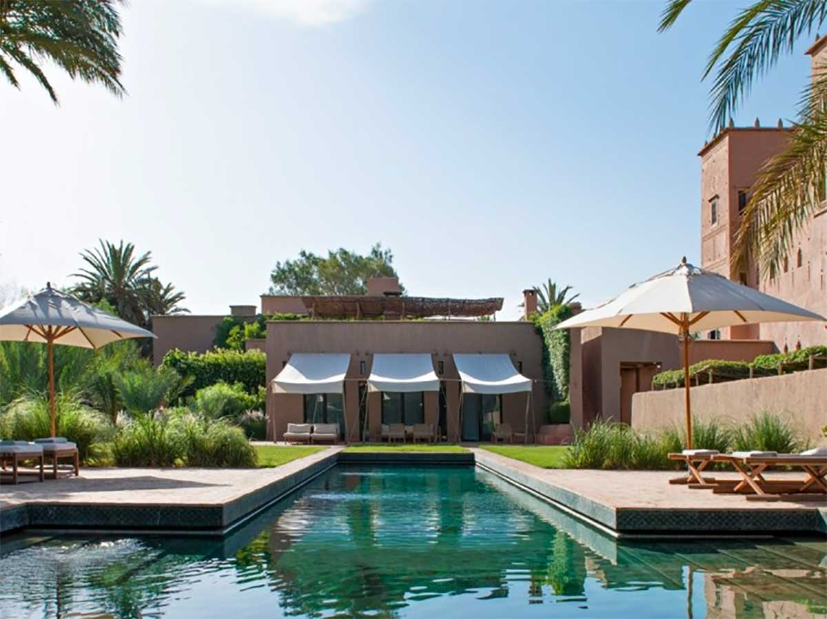 A unique kasbah in Skoura palm grove, sustainable tourism in Morocco with Paladar y Tomar
