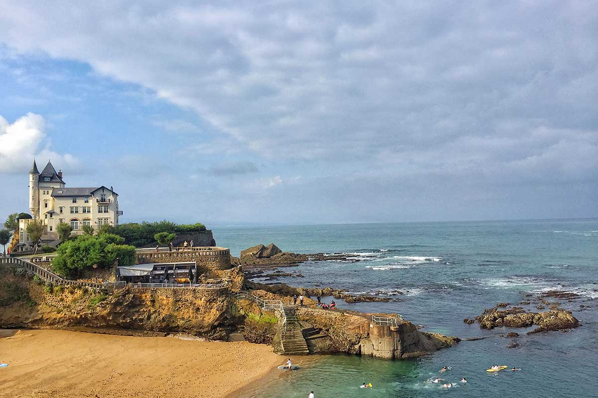 Biarritz, the charme of the French Basque Country with Paladar y Tomar