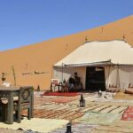 Sleep in a private tent in the desert, sustainable travel in Morocco by Cúrate Trips