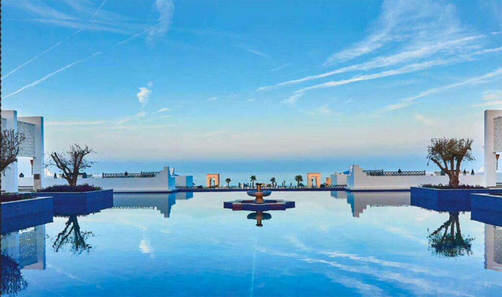 Pure luxury at Banyan Tree Tamouda Bay, unwind after exploring Morocco with Paladar y Tomar