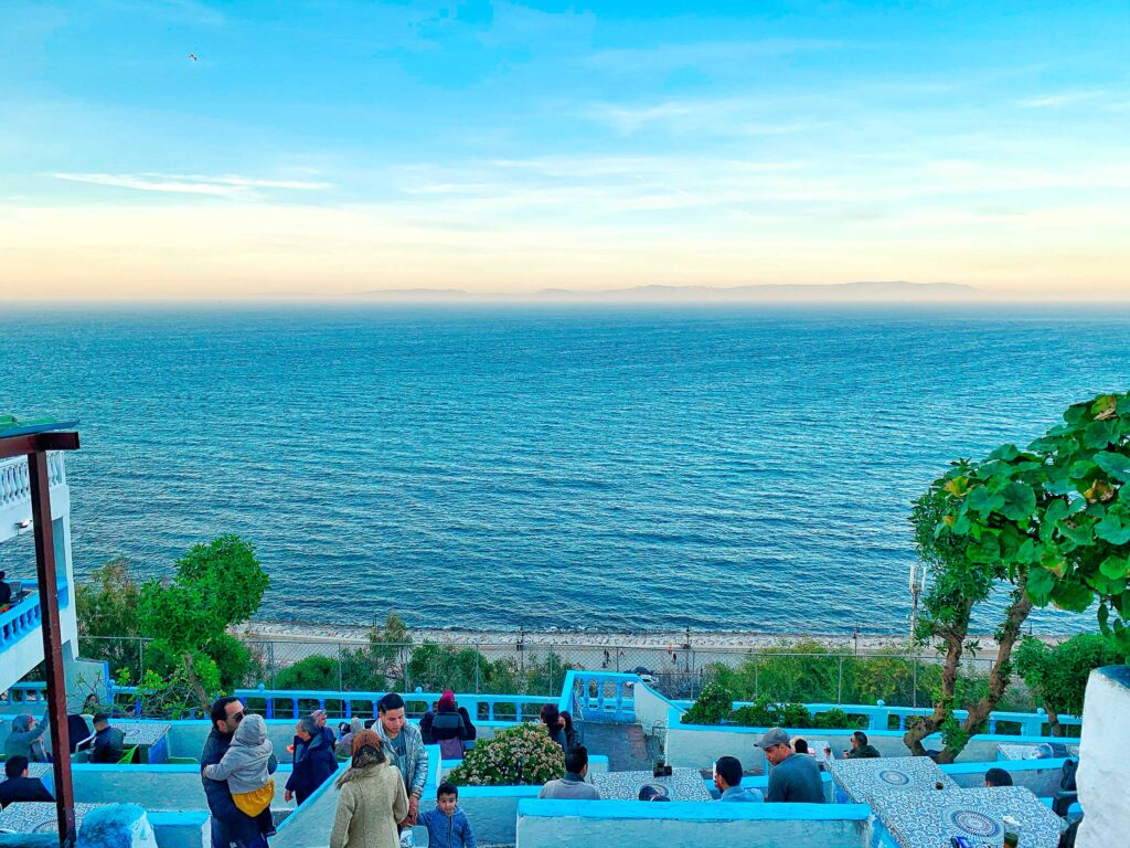Tangier, an international city in northern Morocco, Paladar y Tomar