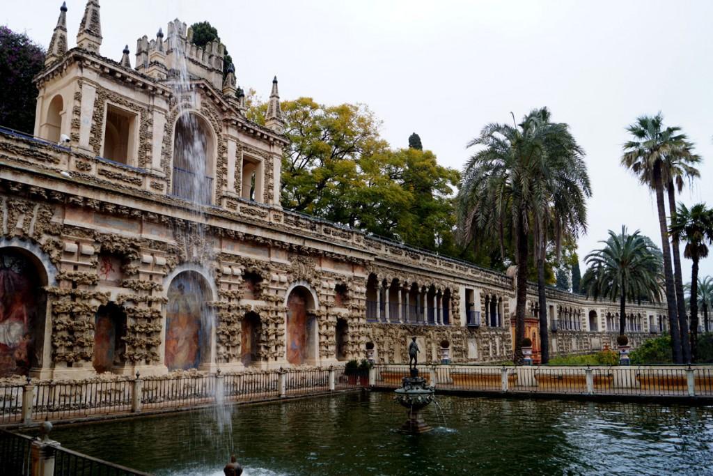 Sevilla Cinema City - Sevilla Alcazar hosted Game of Thrones filming