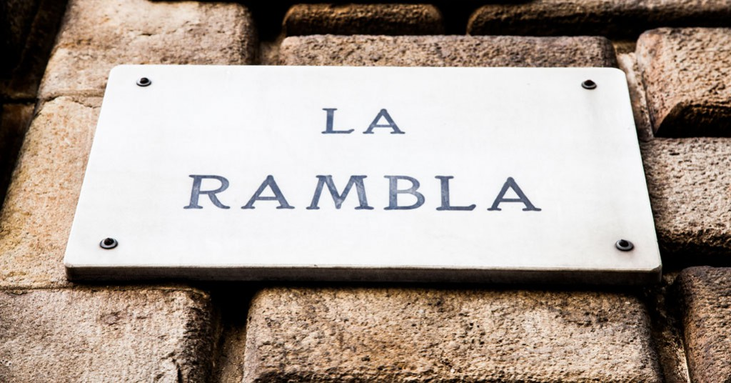 La Rambla is probably Barcelona most famous street