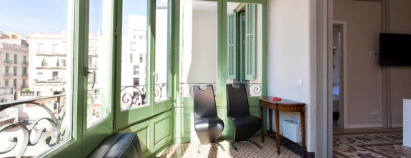 Gracia 1 is a luxury apartment in Passeig de Gracia in Barcelona