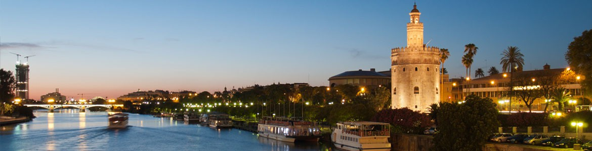 What about enjoying Seville from your private yacht? by Paladar y Tomar