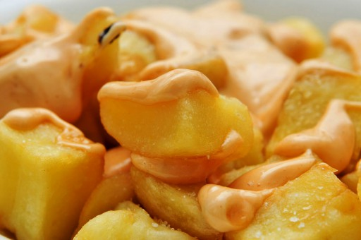 Patatas bravas are maybe Barcelona's most famous tapa