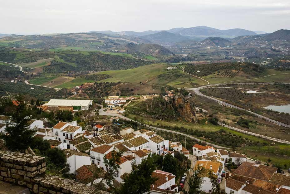 At Zahara de la Sierra in Cadiz they make excellent extra virgin olive oil