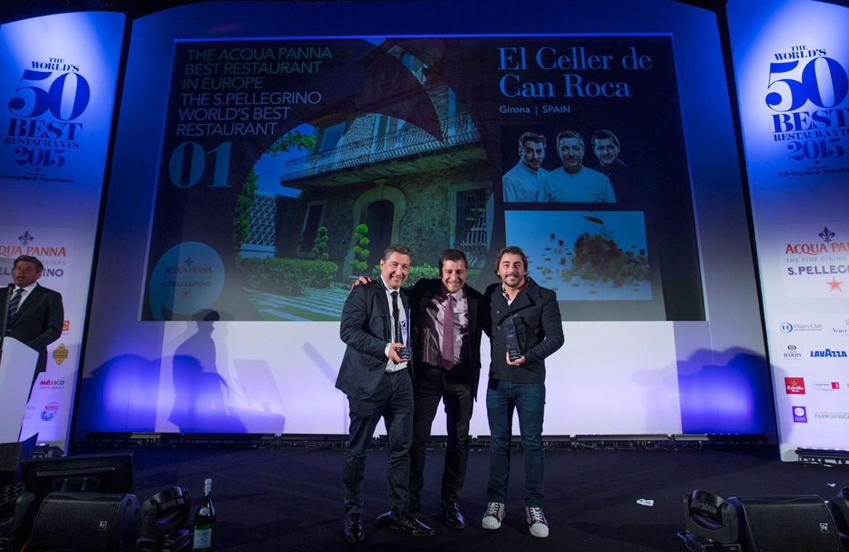 El Celler de Can Roca: Best World Restaurant 2015