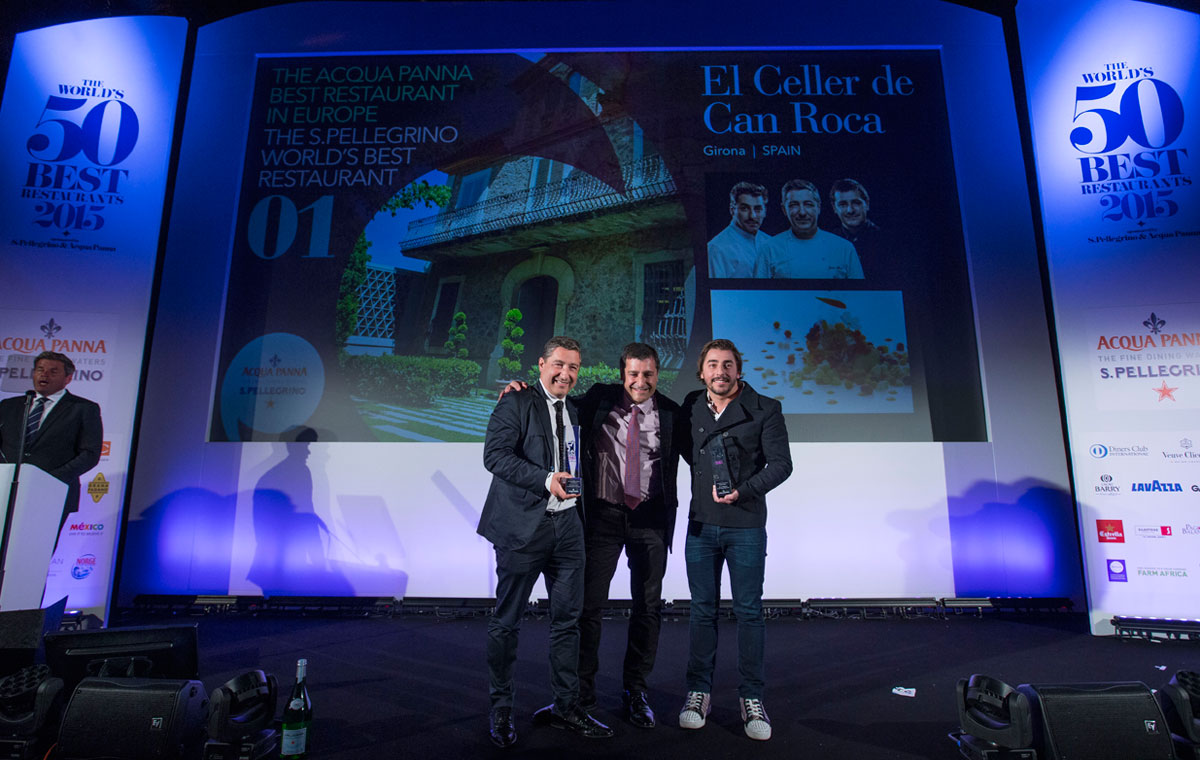 El Celler de Can Roca: Best World Restaurant 2015