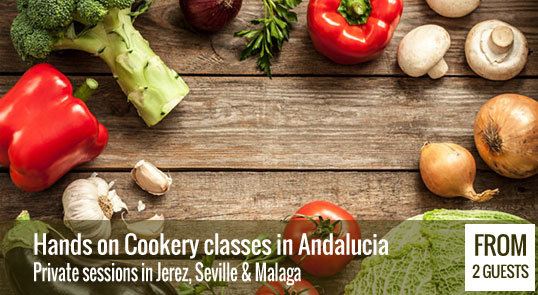 Private cooking classes in Andalucia
