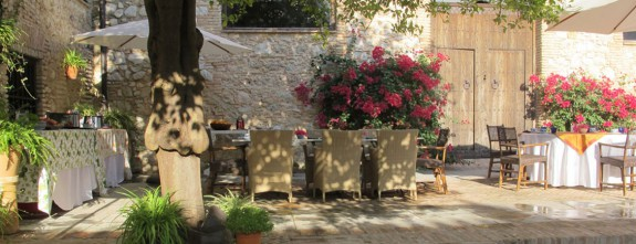 The fresh patios in the cortijo are perfect to host private events and parties