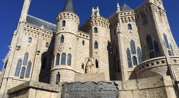 Astorga Bishop's Palace by Gaudi, CURATE The Trip
