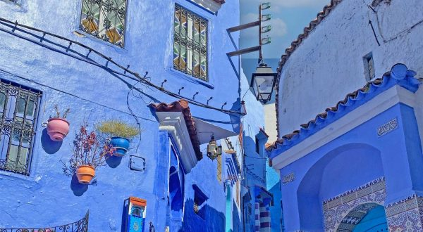 Asilah, blue is everywhere