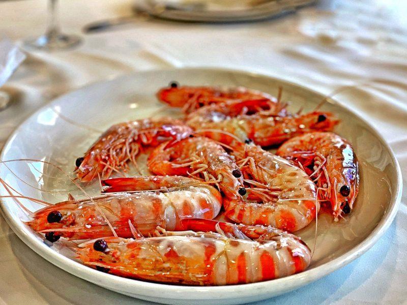 Try the best langostinos in Sanlucar de Barrameda