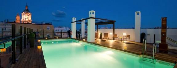 Posada del Patio luxury hotel in Malaga