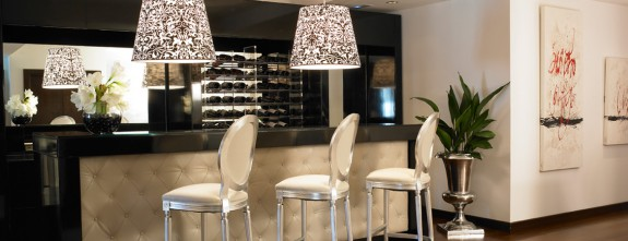 The bar at Luxury Boutique Hotel Hospes Madrid