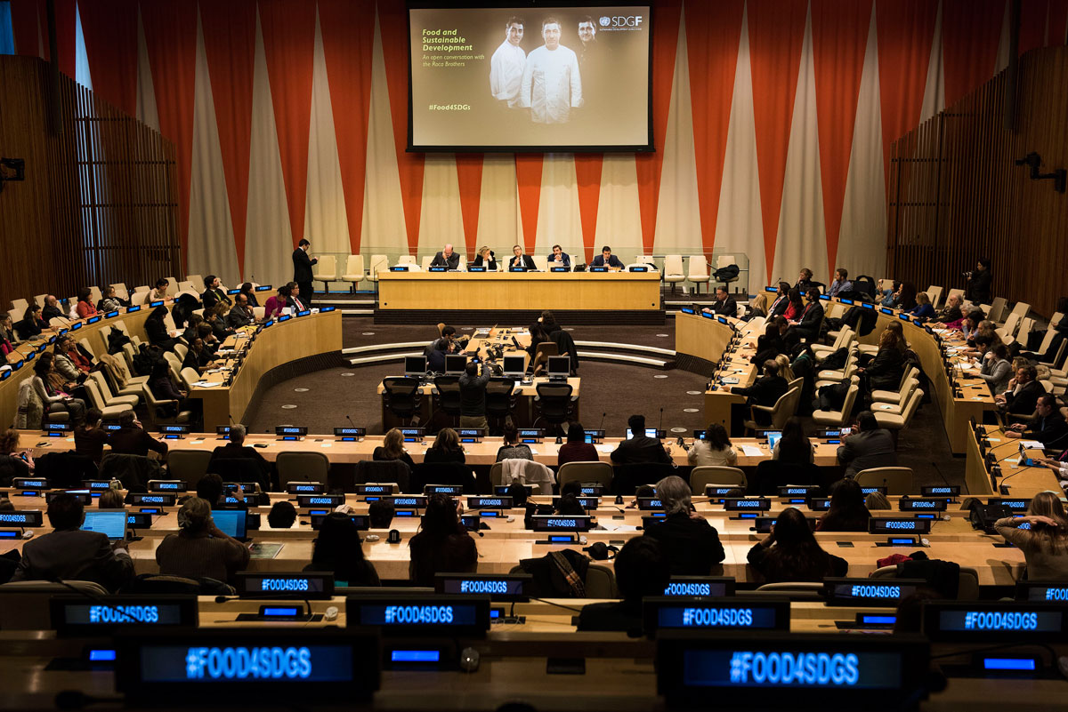 Food is a central component of the 2030 agenda for sustainable development