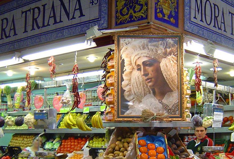 Triana Market in Sevilla