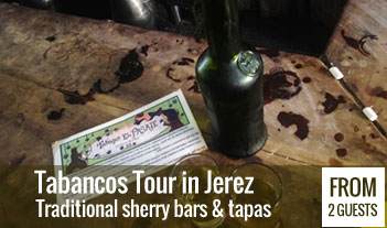 Tabancos tour in Jerez, sherry bars and tapas