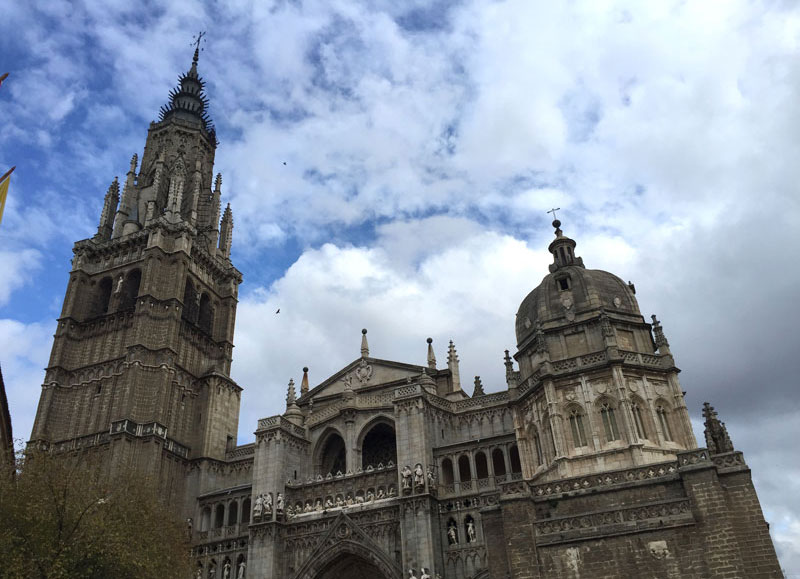 Toledo's cathedral, the City of the Three Cultures