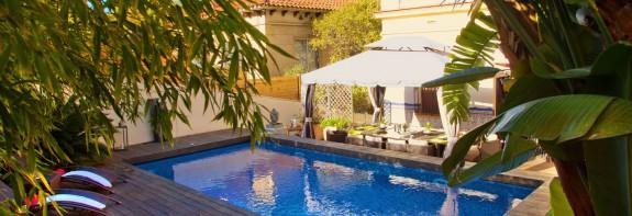 Exclusive private villa in Barcelona